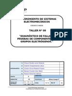 T-09 Diagnóstico de Fallas y Pruebas de Componentes de Grupos Electrógenos.