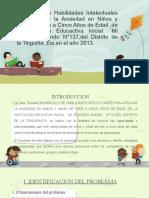 Diapositivas de La Tesis