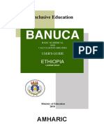 Banuca-UsersGuide-Eng Amharic Ethiopia v120208