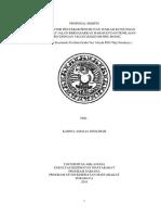 Proposal Skripsi - Cover