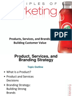 Products Services and Brands Building Customer Value