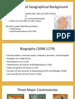 Hildegard Von Bingen Powerpoint