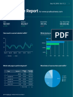 Digital Marketing Insight Report
