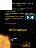 7.4 Employment Act and Regulation