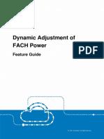 ZTE Dynamic Adjustment of FACH power