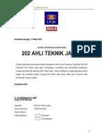 202 Ahli Teknik Jalan