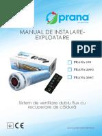 Manual de Instalare Exploatare Prana150 200 67879