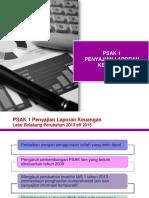 PSAK 1 Penyajian Laporan Keuangan IAS 1 15092018