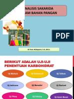 Analisis Sakarida Dalam Bahan Pangan K3