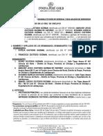 I'mBASES DE CONCURSO PÚBLICO Y DEMANDA PETICIÓN DE HERENCIA