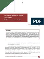 Las órdenes militares en España (ss. XII-XV)