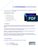 FTTC Fibre Cabinets
