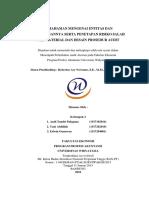 Audit Atestasi - Pemahaman Mengenai Entitas Dan Lingkungannya Serta Penetapan Risiko Salah Saji Material Dan Desain Prosedur Audit