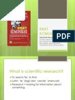 Buku Riset Komunikasi