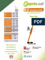 Fullet e02 Tarragona-Valls 20141201
