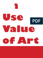 On_Use_Value_of_Art