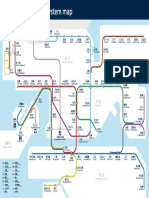 Route Map HK MTR