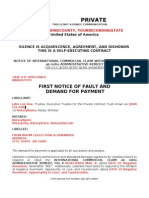 05 - First Demand for Payment