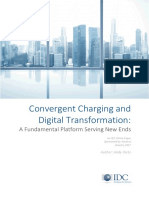 IDC Whitepeper_Convergent Charging and Digital Transformation