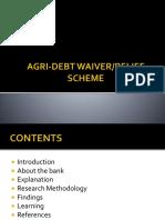 Agri Debt Waiver