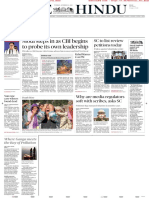The Hindu Newspaper Free Download 23th October 2018