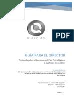 Guía director kipus