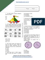 Simulado/atividade 18 de Matemática para 4º e 5° ano