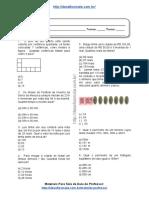 Simulado/atividade 24 Matemática para 4º e 5° ano