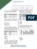 Simulado/atividade 40 Matemática para 4º e 5° ano