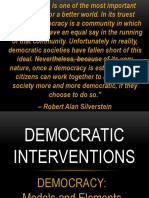 Democratic Interventions