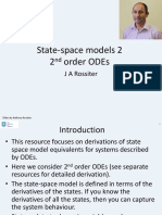 State Space 2 - Modelling