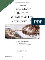Claude Le Moal - La Véritable Histoire d'Adam