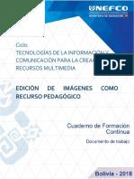 EDICIÓN DE IMÁGENES COMO RECURSO PEDAGÓGICO