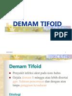 1. demam thyfoid