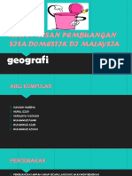 Kesan-kesan Pembuangan Sisa Domestik Di Malaysia