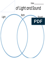 sources of light and sound venn diagram