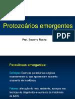 2 - Protozoários emergentes
