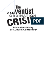 Adventist Ordination Crisis_Biblical Authority...