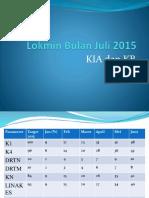 Lokmin Bulanan KIA n KB Juli 2015