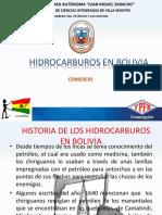 HIDROCARBUROS EN BOLIVIA