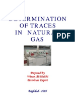 Determination of Traces in Natural Gas