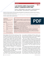 Prevalence of autism and attention deficit hyperactivity disorder in Down syndrome