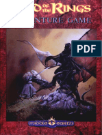Lord of the Rings Adventure Game - The Guidelines