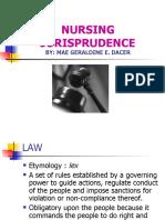 Nursing Jurisprudence