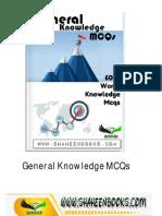 General Knowledge MCQS
