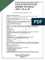 Test Estatuto de Autonomia Arts 32 Al 35