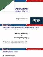 Aula 16 - Direitos da Nacionalidade.pdf