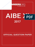 AIBE SAMPLE PAPER