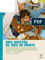 Uma questão de vida ou morte. Como enfrentar a violência contra a Assistência à Saúde no Paquistão, Peru e El Salvador