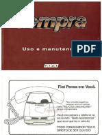 Manual Tempra